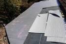 熊本市玉名郡での屋根工事(波型鉄板の張り付け)のサムネイル