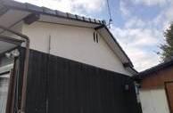 熊本県荒尾市でのトタンの貼り付け
