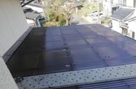 熊本市内北区大窪でのタキロン張替え