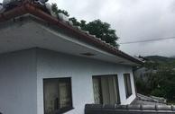 熊本県菊鹿町松尾での雨樋交換