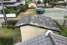 熊本県山鹿市での屋根スレート塗装作業のサムネイル